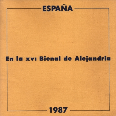Cover of the Spanish Pavilion Catalog
