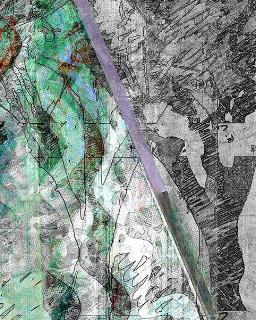 Detalle de  Triangulation #87  - árboles retorcidos