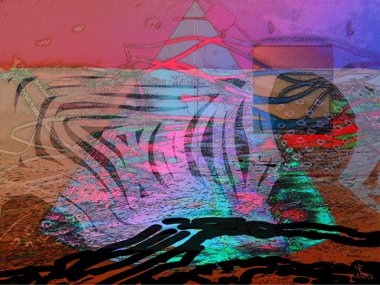 Shackles  (Grilletes) Digital C-Print, 37,5 x 50 cm