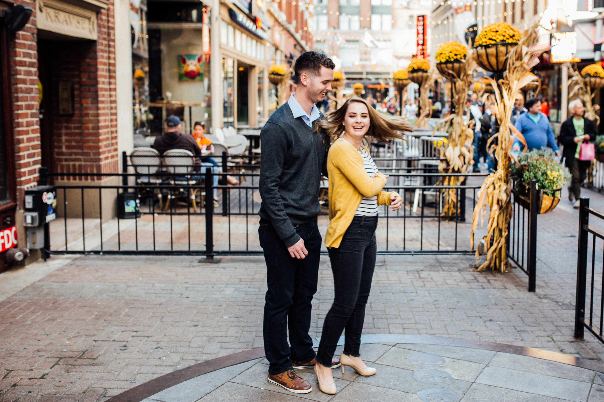 Cleveland, Ohio // lifestyle and documentary wedding and engagement photographer // Carrie Hall Photography