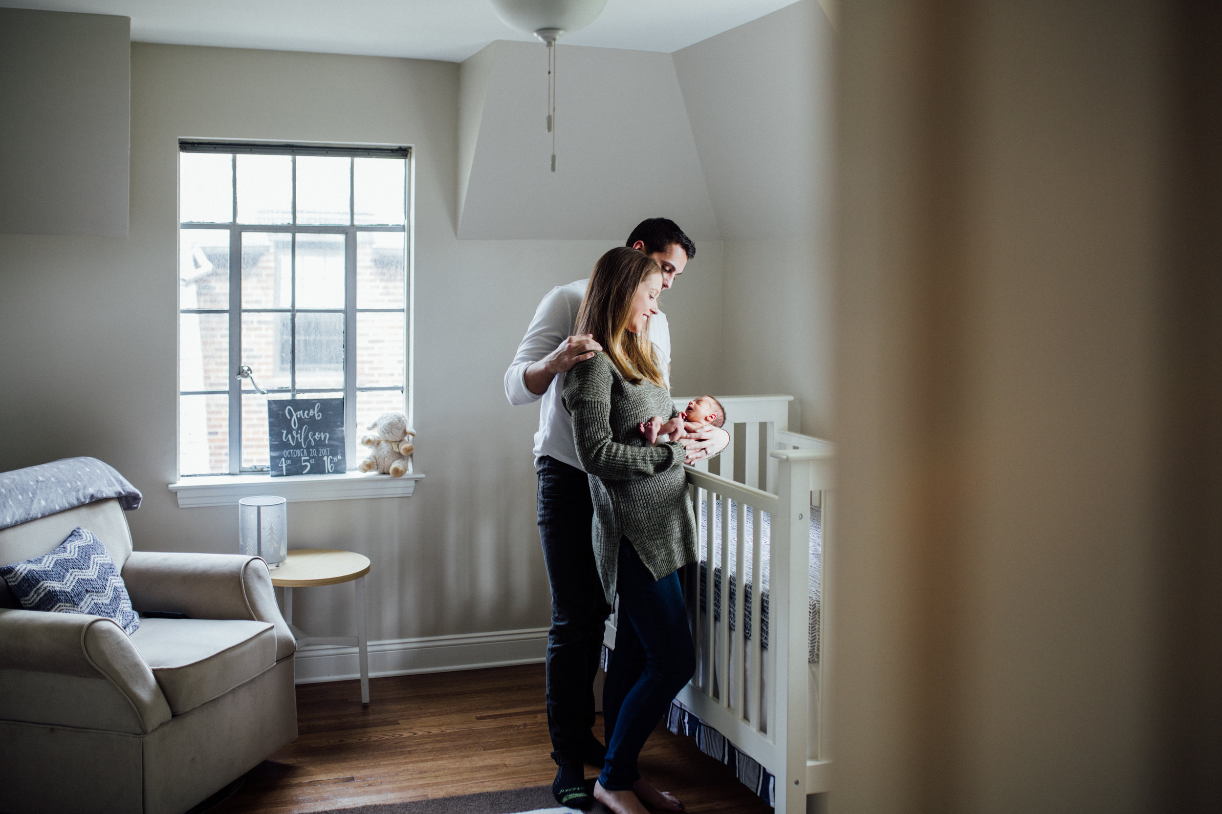 Cleveland, Ohio Newborn Photographer // Carrie Hall Photography