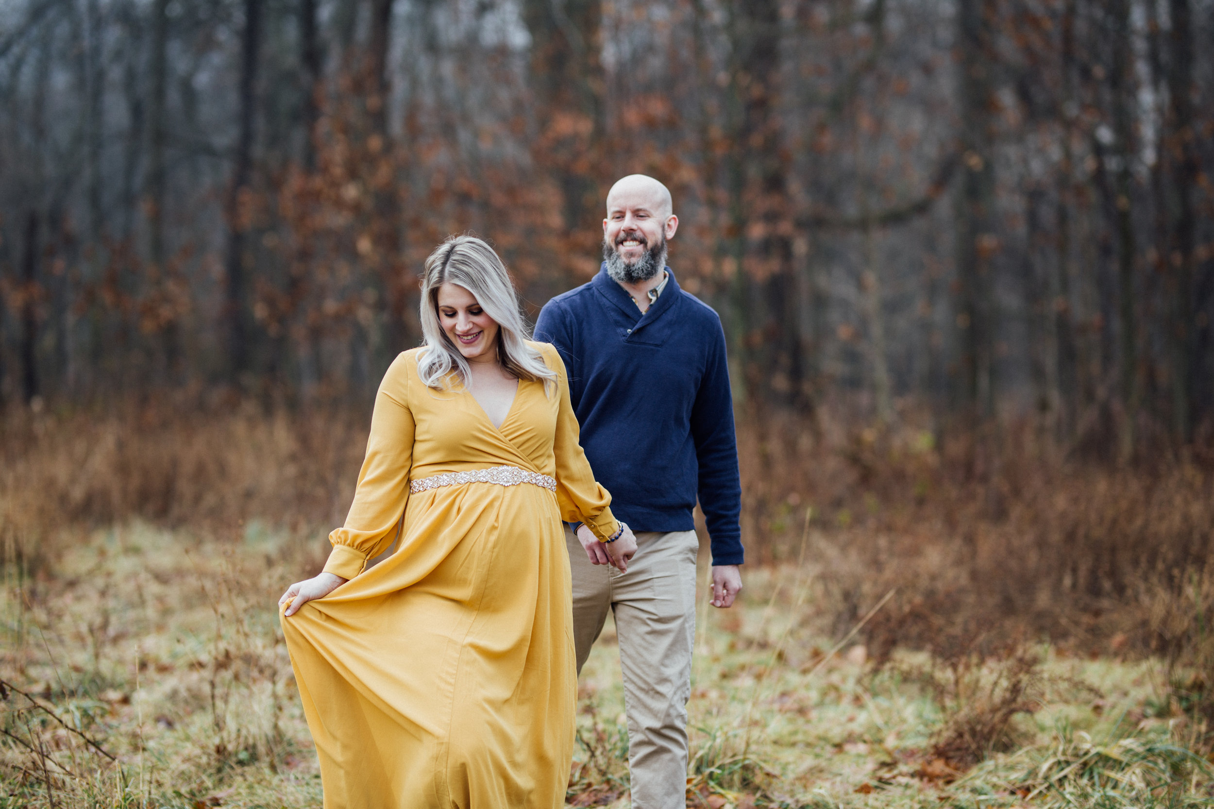 Rocky River, Ohio Maternity Photographer // Carrie Hall Photography