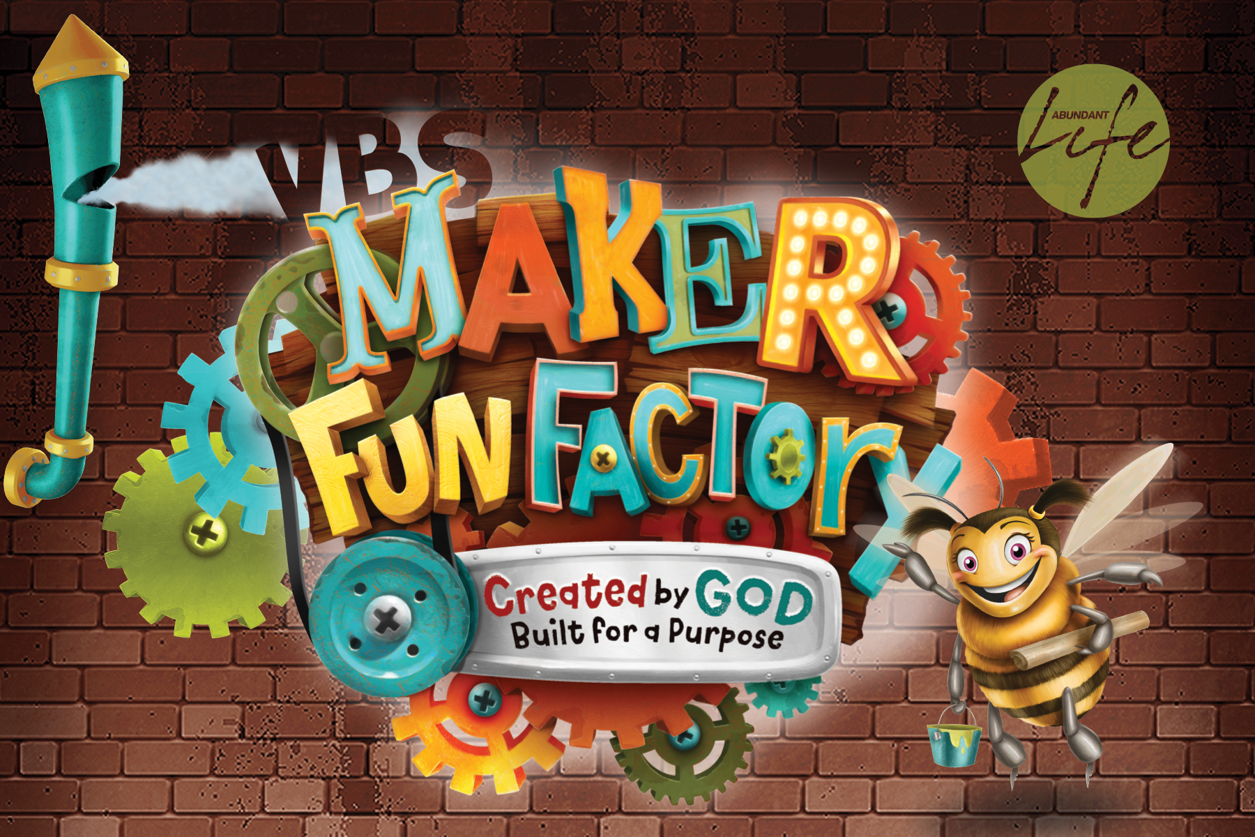 VBS is open to all kids (Pre-Schoolers to 5th Graders).  $25 First Child | $20 Additional Sibling.