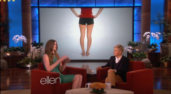 Crédito: programa  TV Ellen .