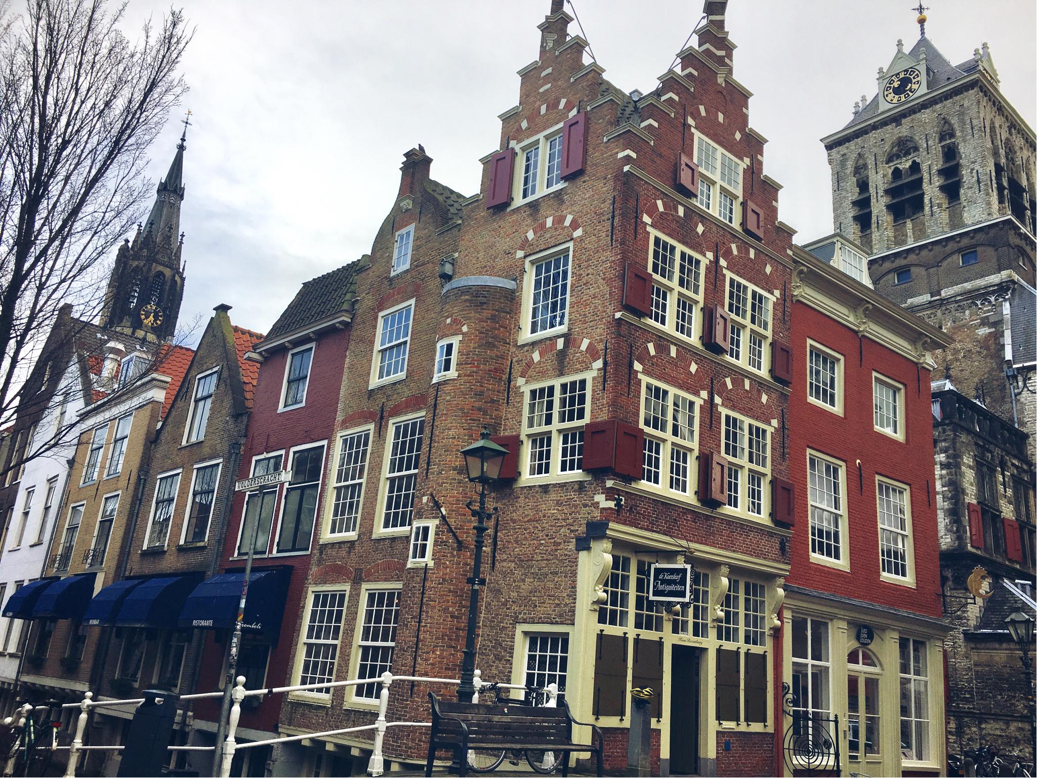Delft - voldersgracht (uma das ruazinhas mais fofas)