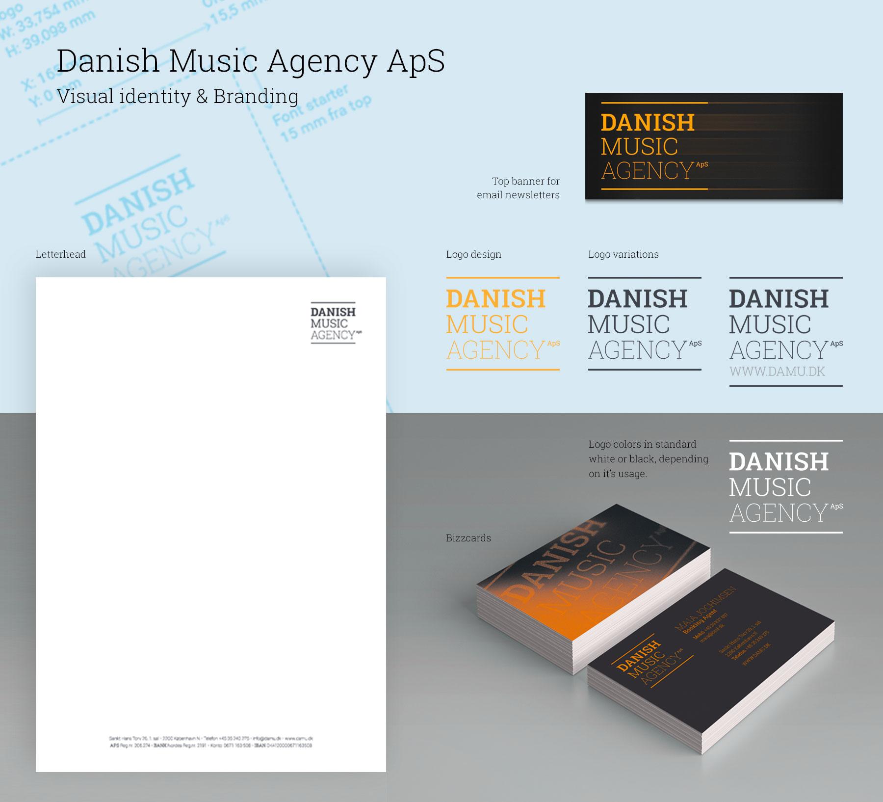 Danish Music Agency's new identity
