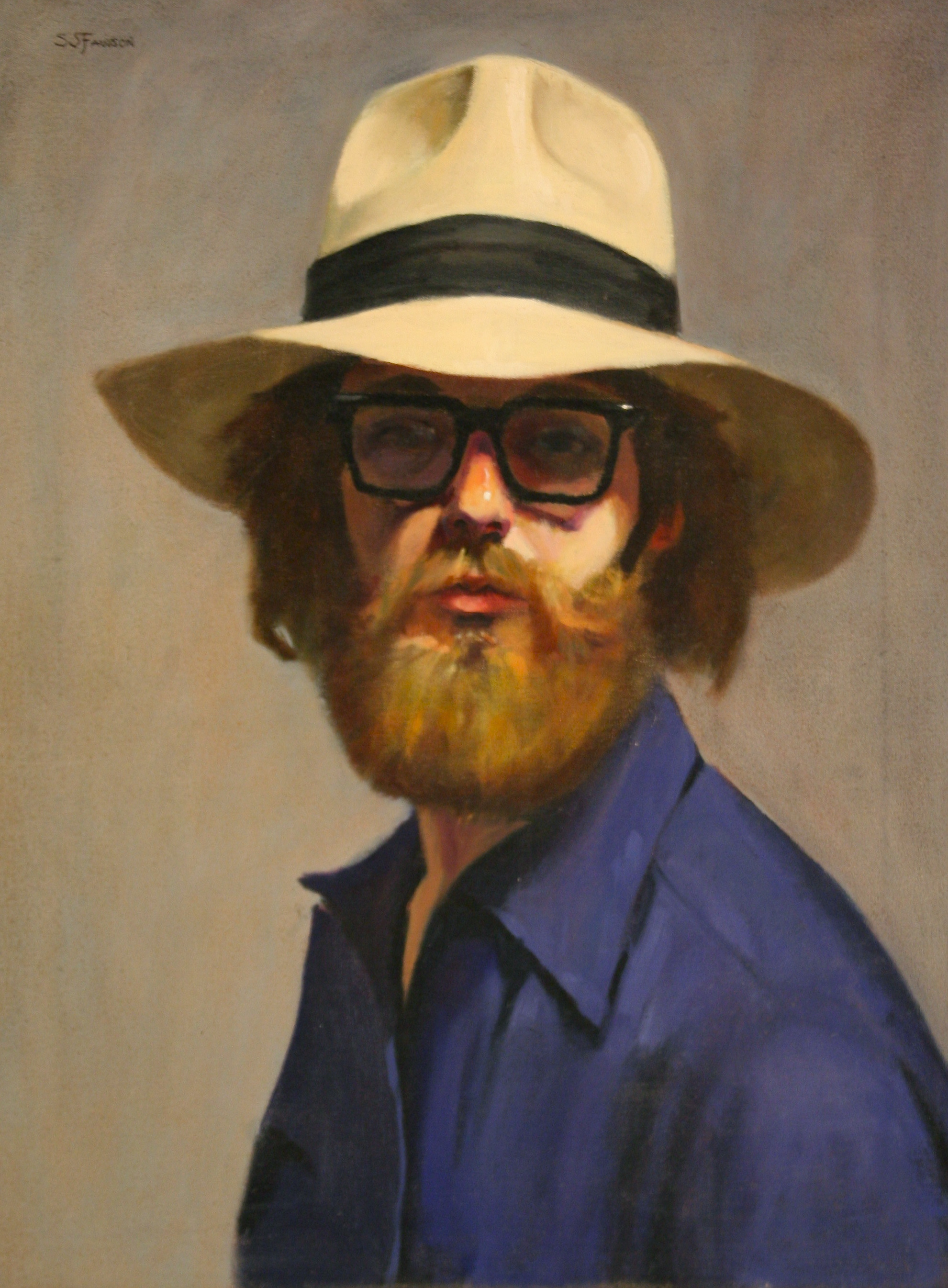 Steven Fawson self portrait