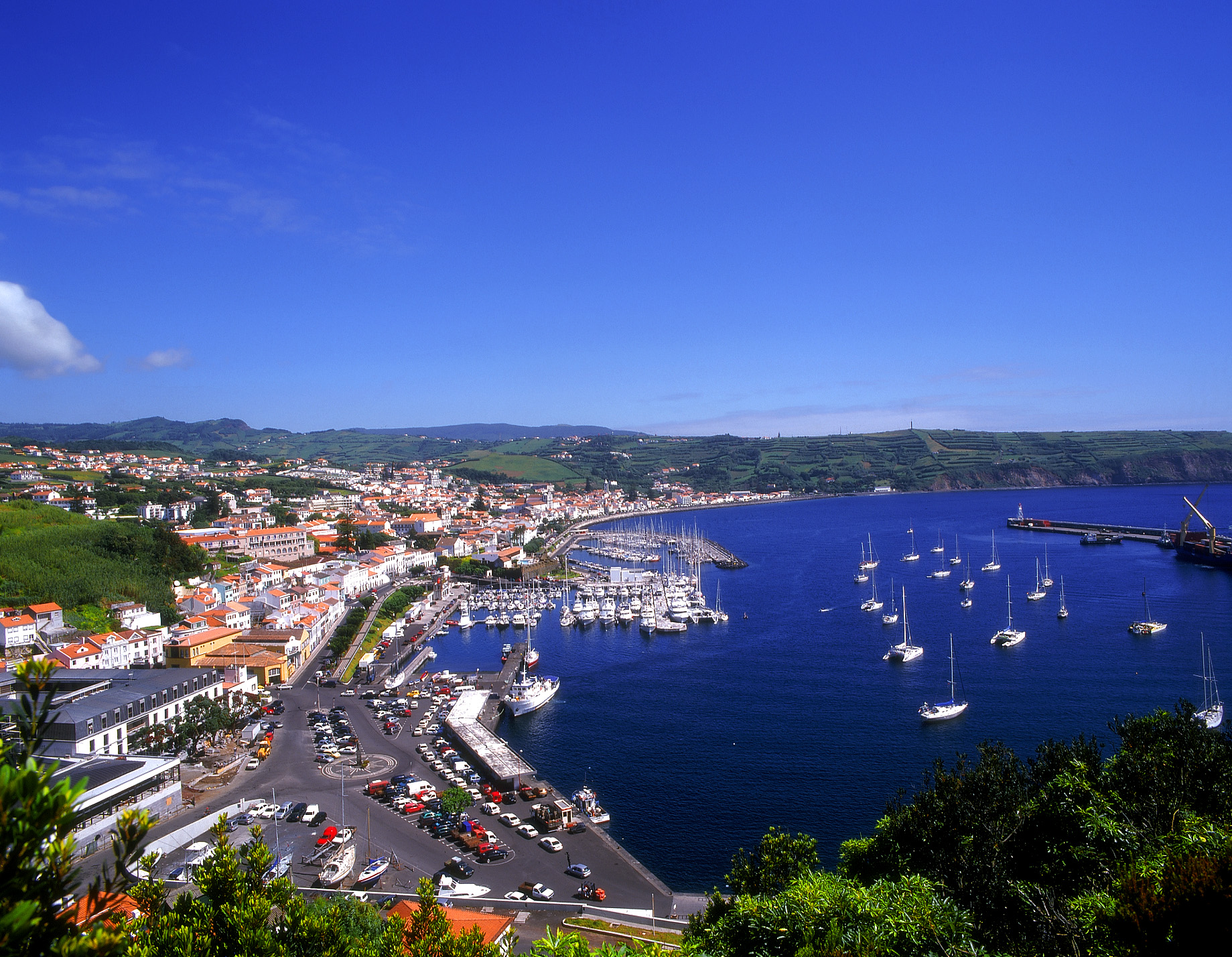 The port, Horta, Azores