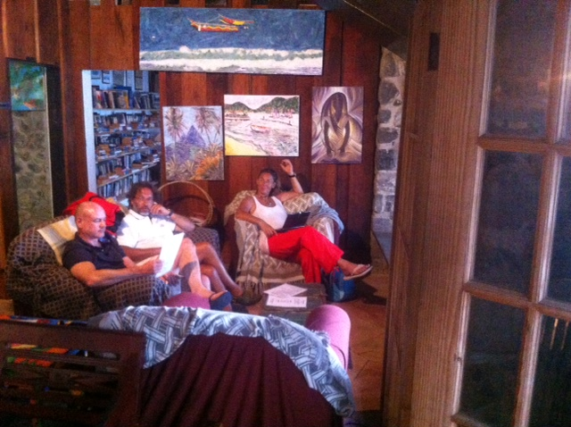 Relaxing in the JAMBE DU BOIS