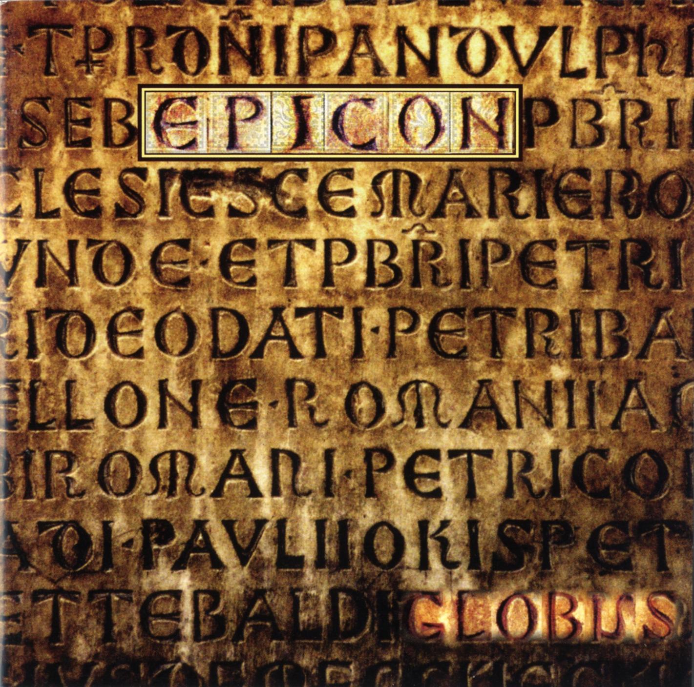 album cover for globus: epicon