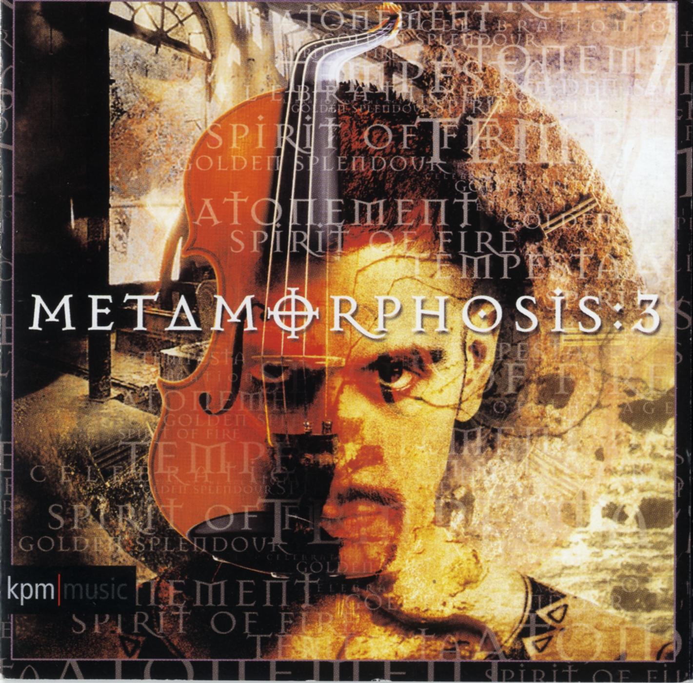 album cover for metamorphosis 3