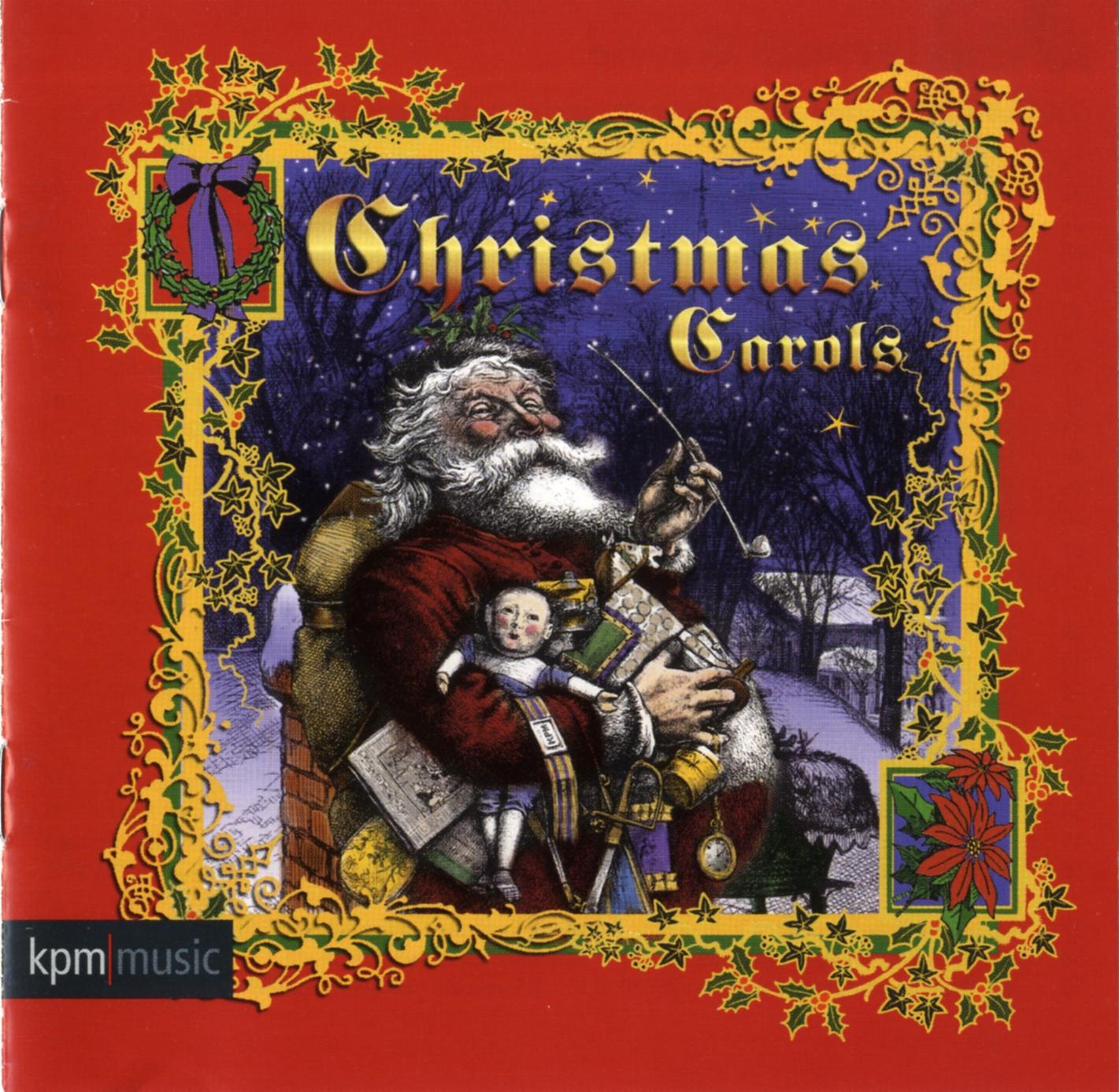 album cover for christmas carols.