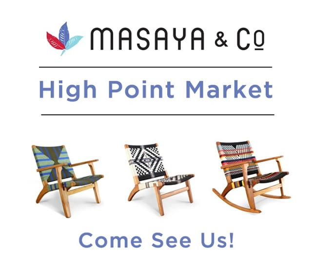Oh Happy Day! 👏👏👏 Our favorite time of the year is quickly approaching - High Point Market! We are thrilled to be able to be apart of this wonderful furniture fair. Let us know if you'll be around, we'd love to meet you! ☺️.....#highpoint #highpointmarket #highpointmarket2018
