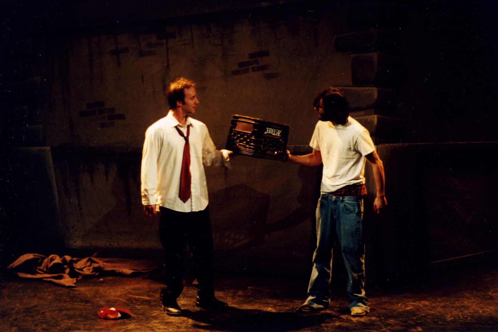 Robert Kingston and Tim Gentle. Photo by Patrick Beagan.