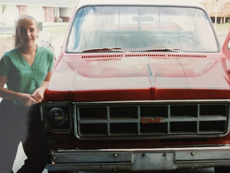 Shirley and I, Circa 1996 when we finally sold the old girl. 1996 does not feel this long ago?