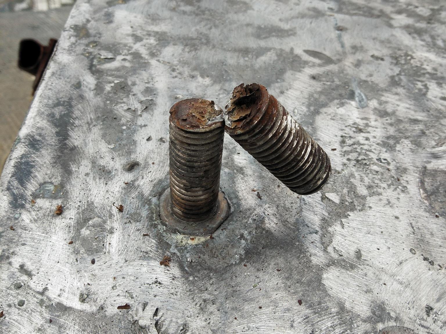 Broken bolt # 6 of 15.