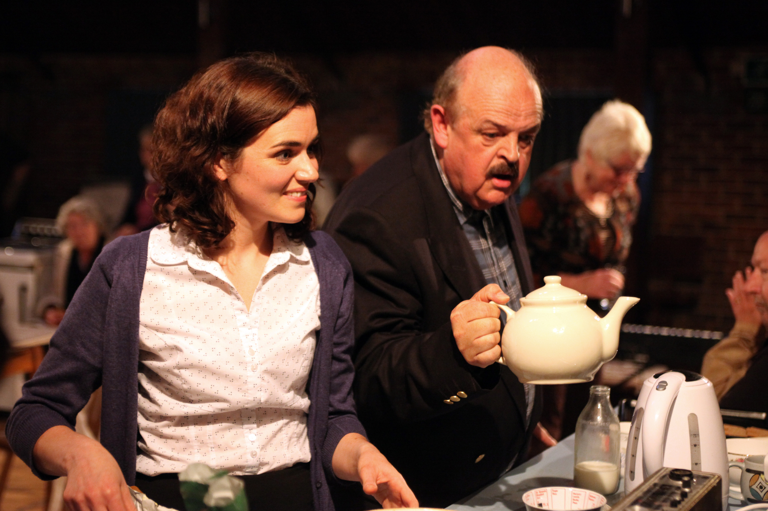 In Praise of Elephants  by Farnham Maltings  A new play for village halls with music and biscuits