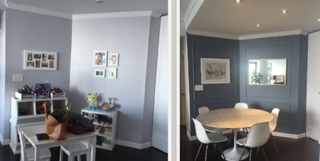 Dinning room - Before & After