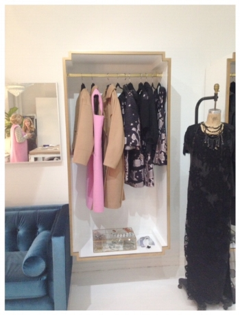 After - Atelier.We designed and had beautiful custom made wall display boxes to show off her Custom Collection.