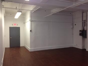 Before - Empty Atelier