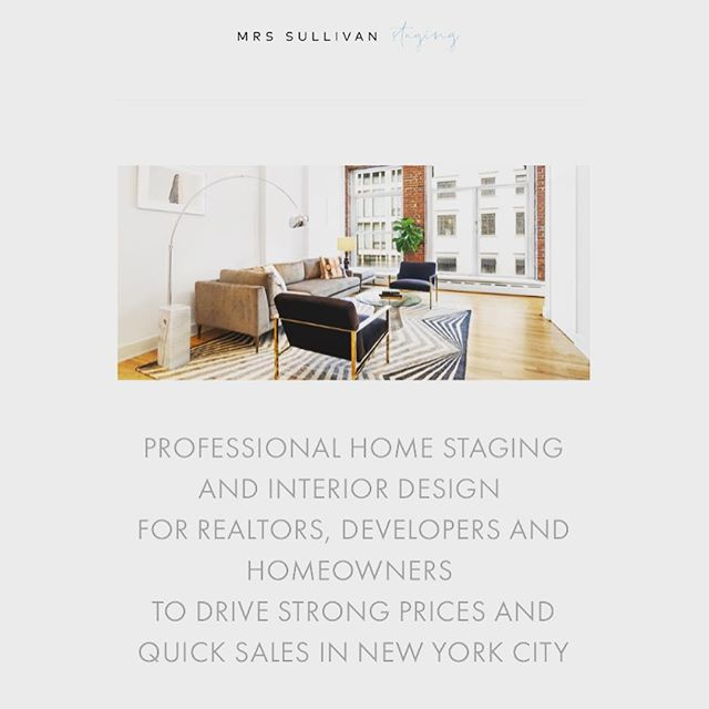 Our new Staging website ! dm us if you need our help!