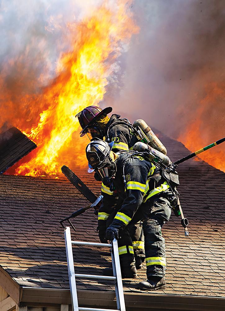 Apartment fire in Sacramento, CA