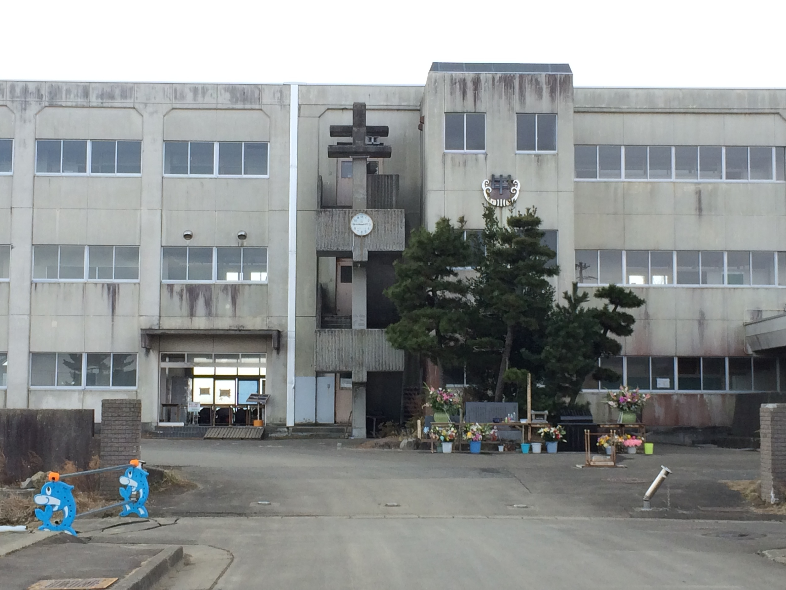 Figure 5:   Yuriage Junior High School