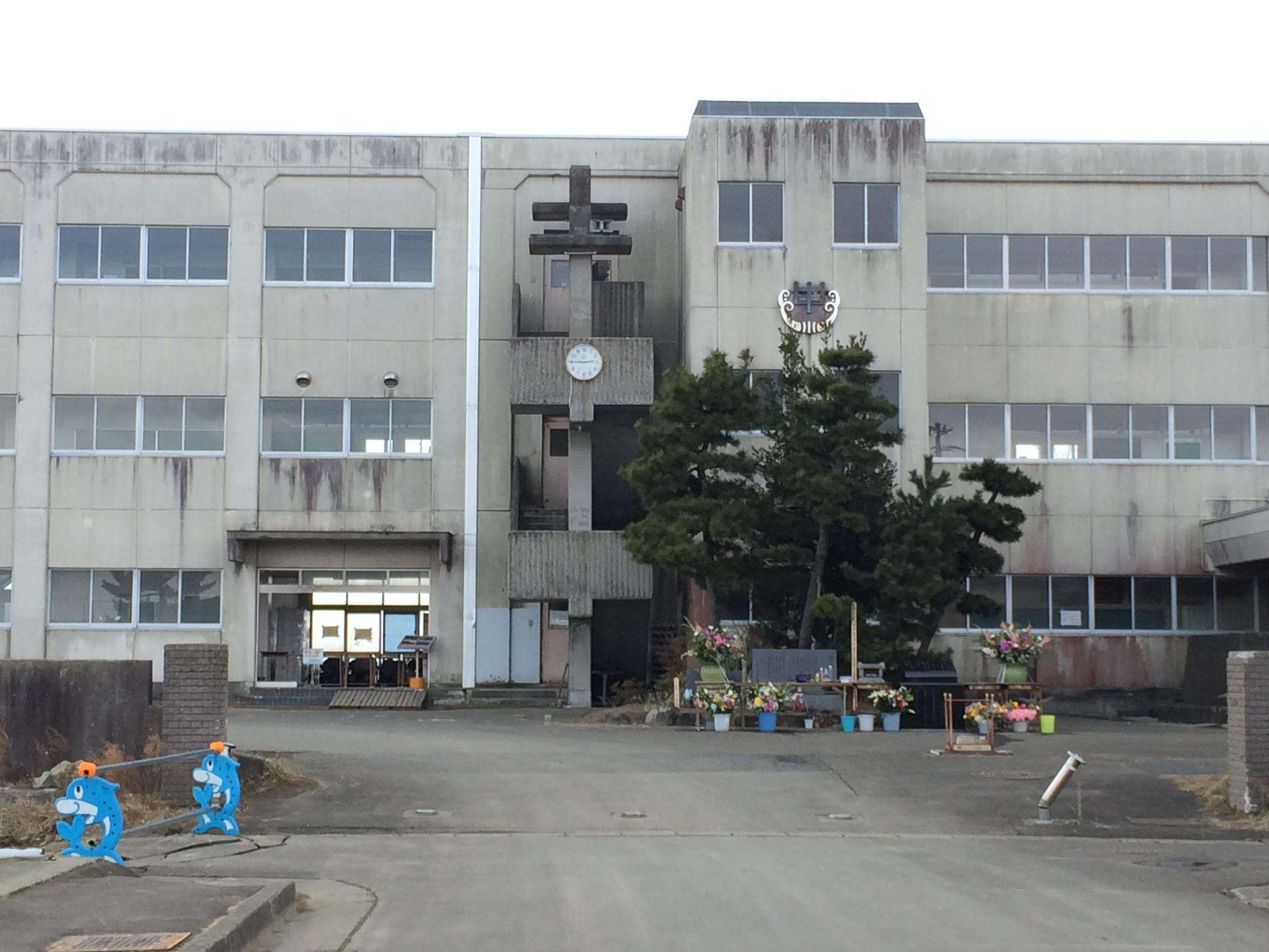 Figure 5:  Yuriage Junior High School