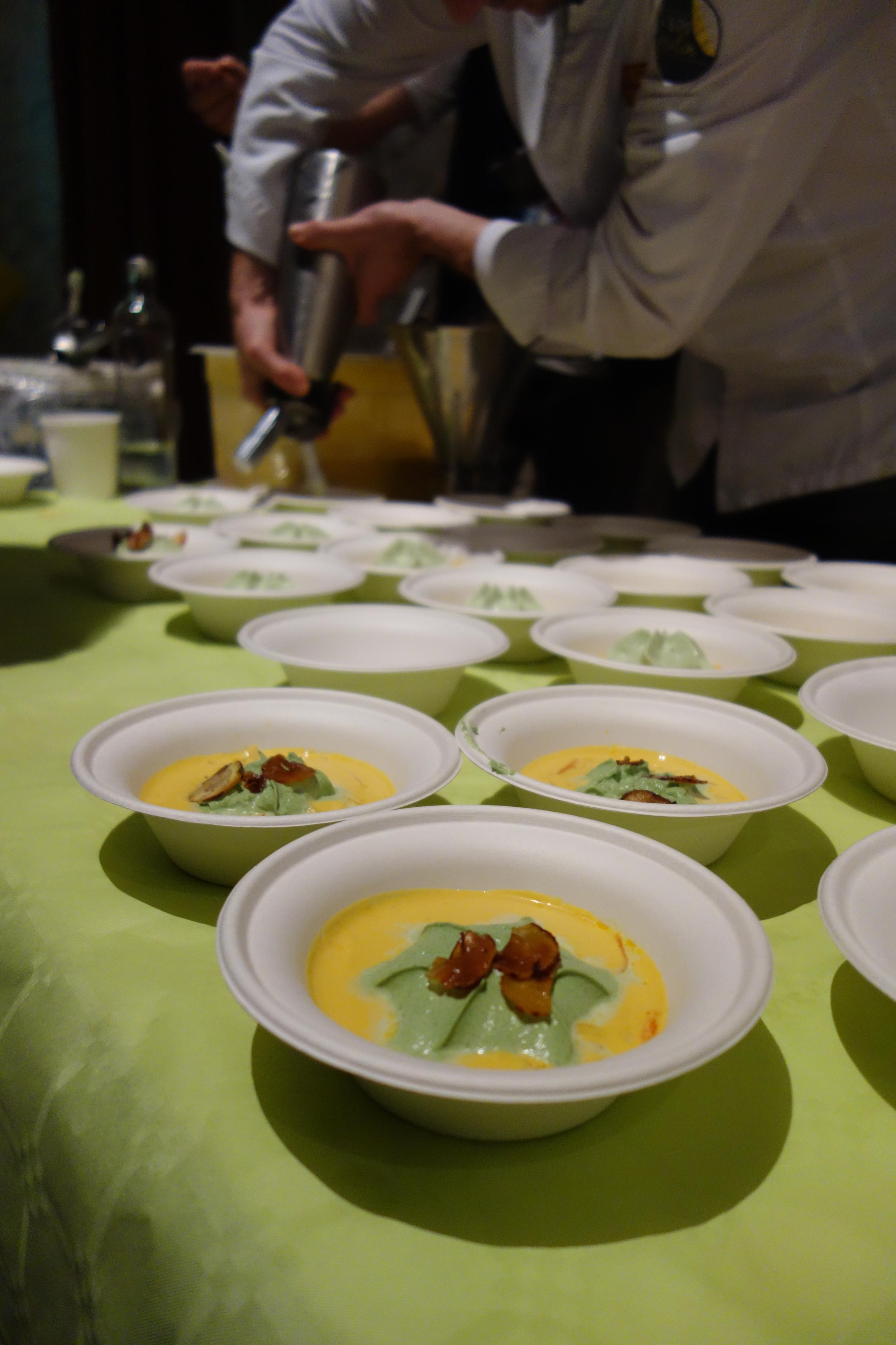 Michelin starred soup