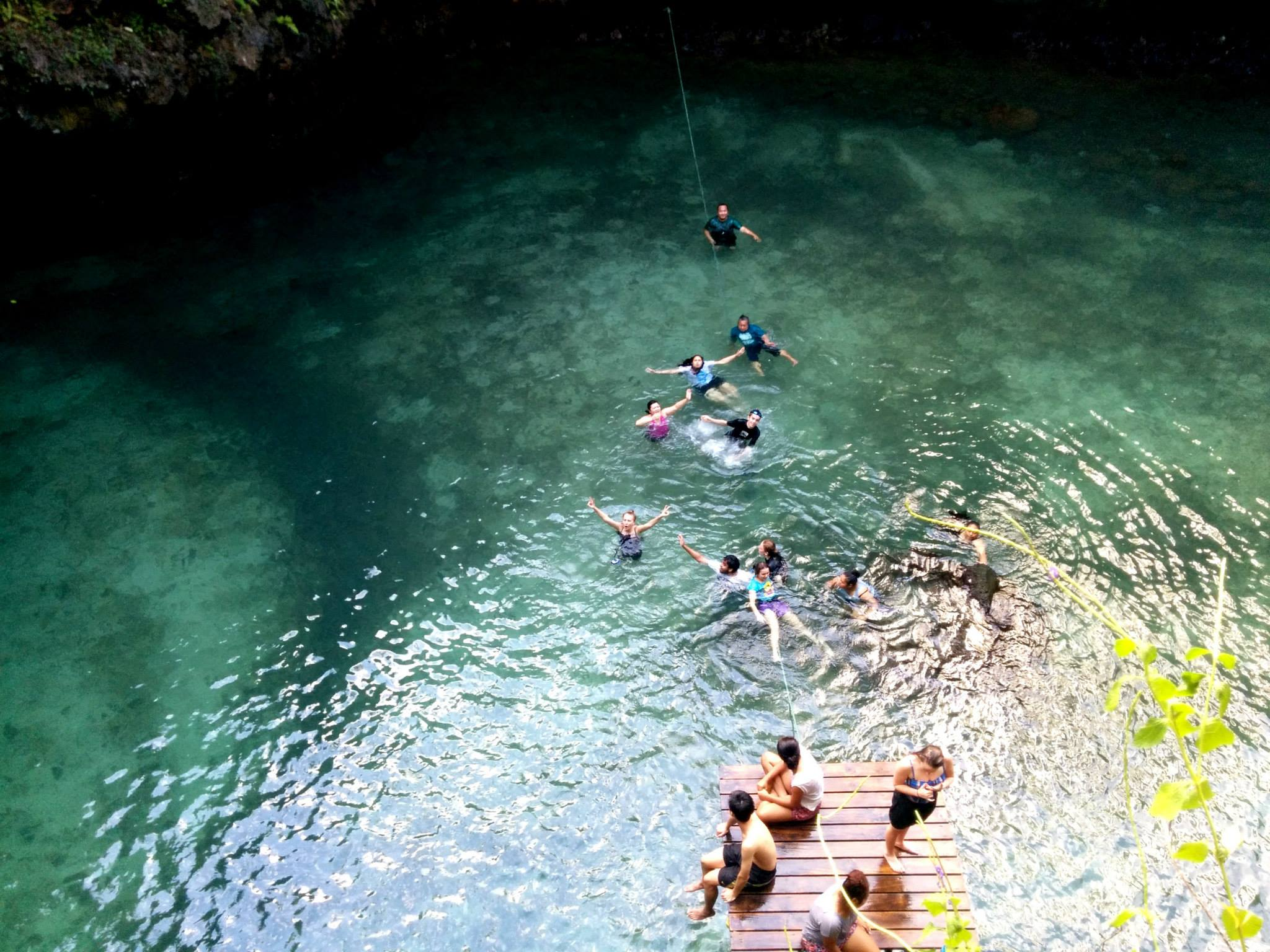 To le sua ocean trench in Samoa
