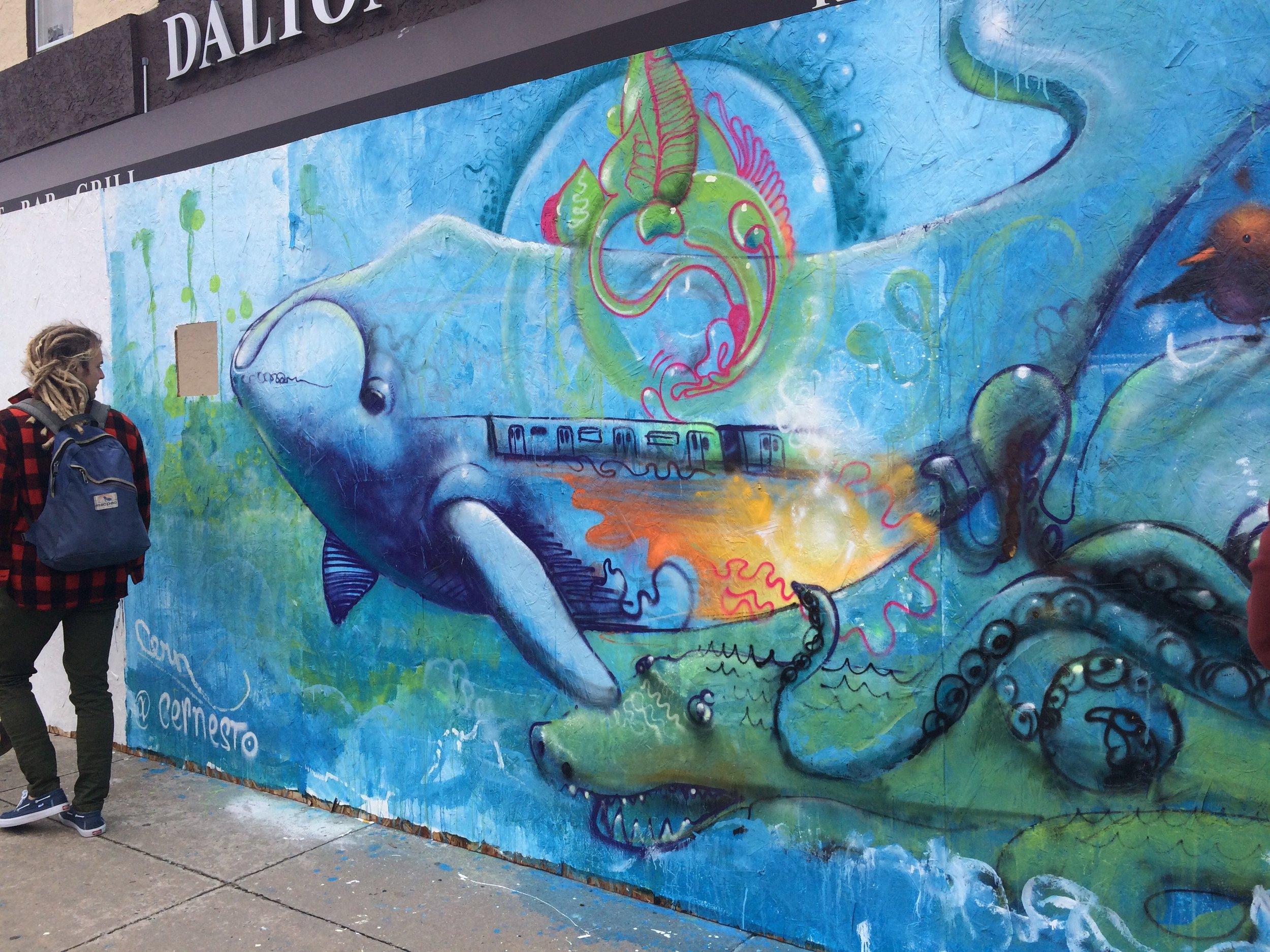 Street Art at Rockaway Beach