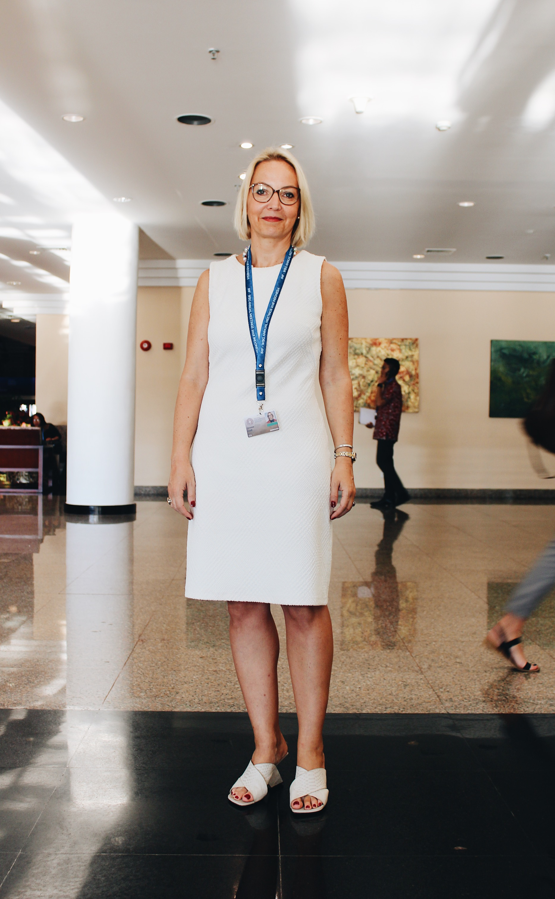 Christine Graeff, European Central Bank