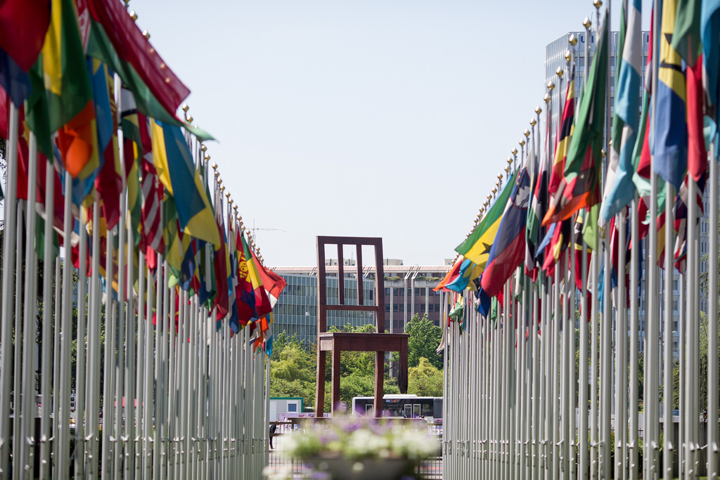The Palais des Nations in Geneva, where New Zealand's third Universal Periodic takes place next week.