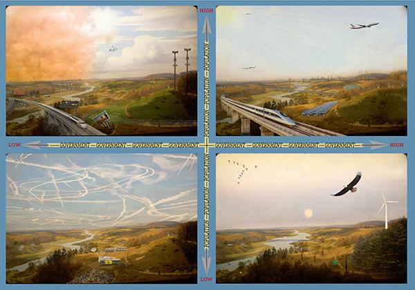 David_Buckley_Borden-Harvard-Forest-Diorama-Study Drawing Scenario