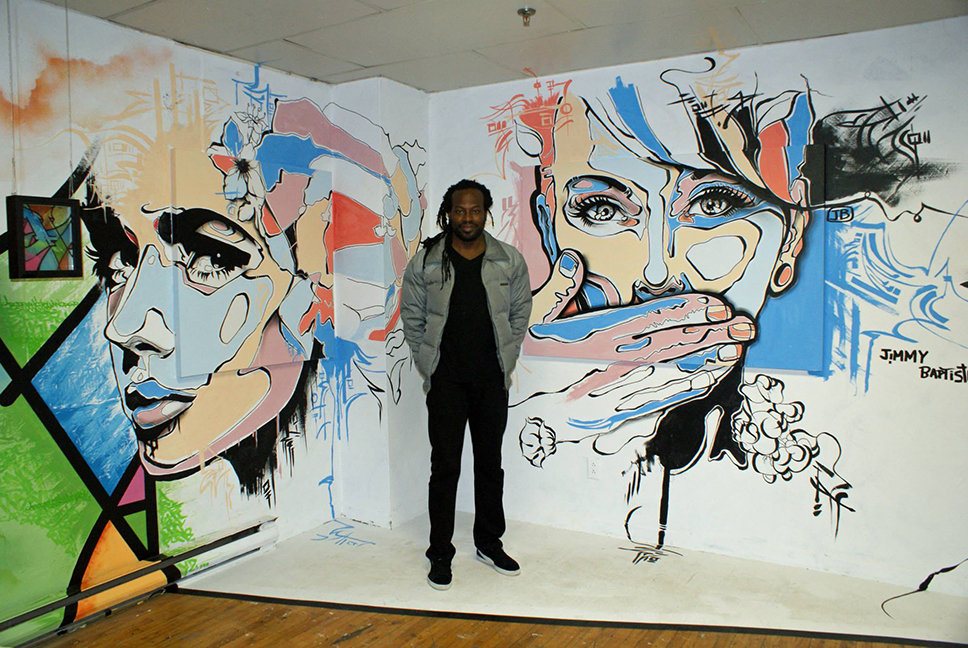 jimmy_baptiste_at_fresh_paint_gallery
