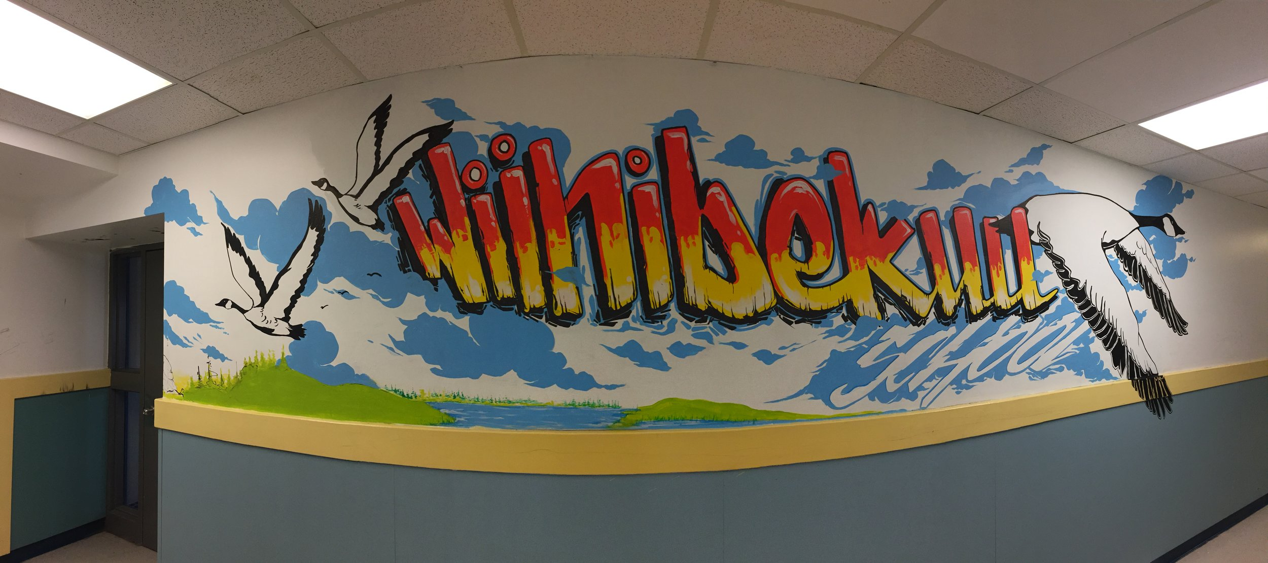 Cree Nation LandWaskaganish First Nation, Northen Quebec - Winnibekuu School