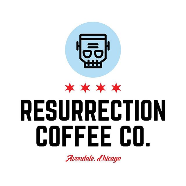 Logos, Branding, and Direction for Resurrection Coffee Co. in Avondale, Chicago ——— #graphicdesign #design #branding #logo #logodesigner #coffee #freelance #adobeillustrator