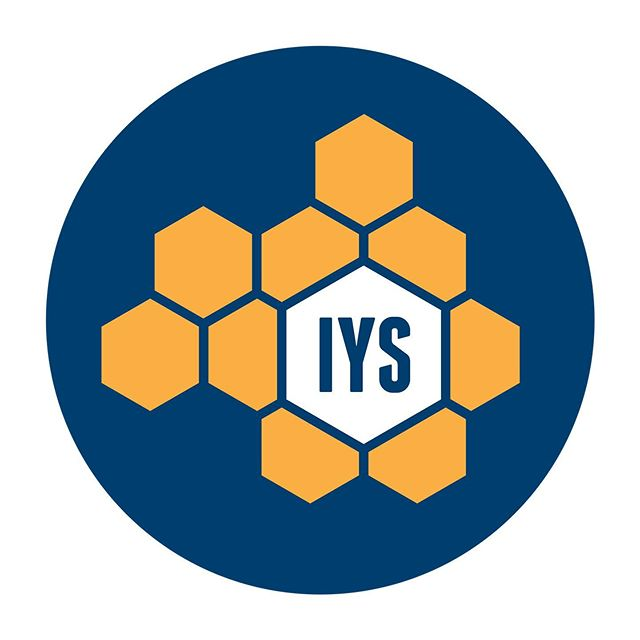 Logo and Branding for The Institute of Youth Studies —— #graphicdesign #design #logo #logodesigner #adobeillustrator #freelance #youth #students #honeycomb