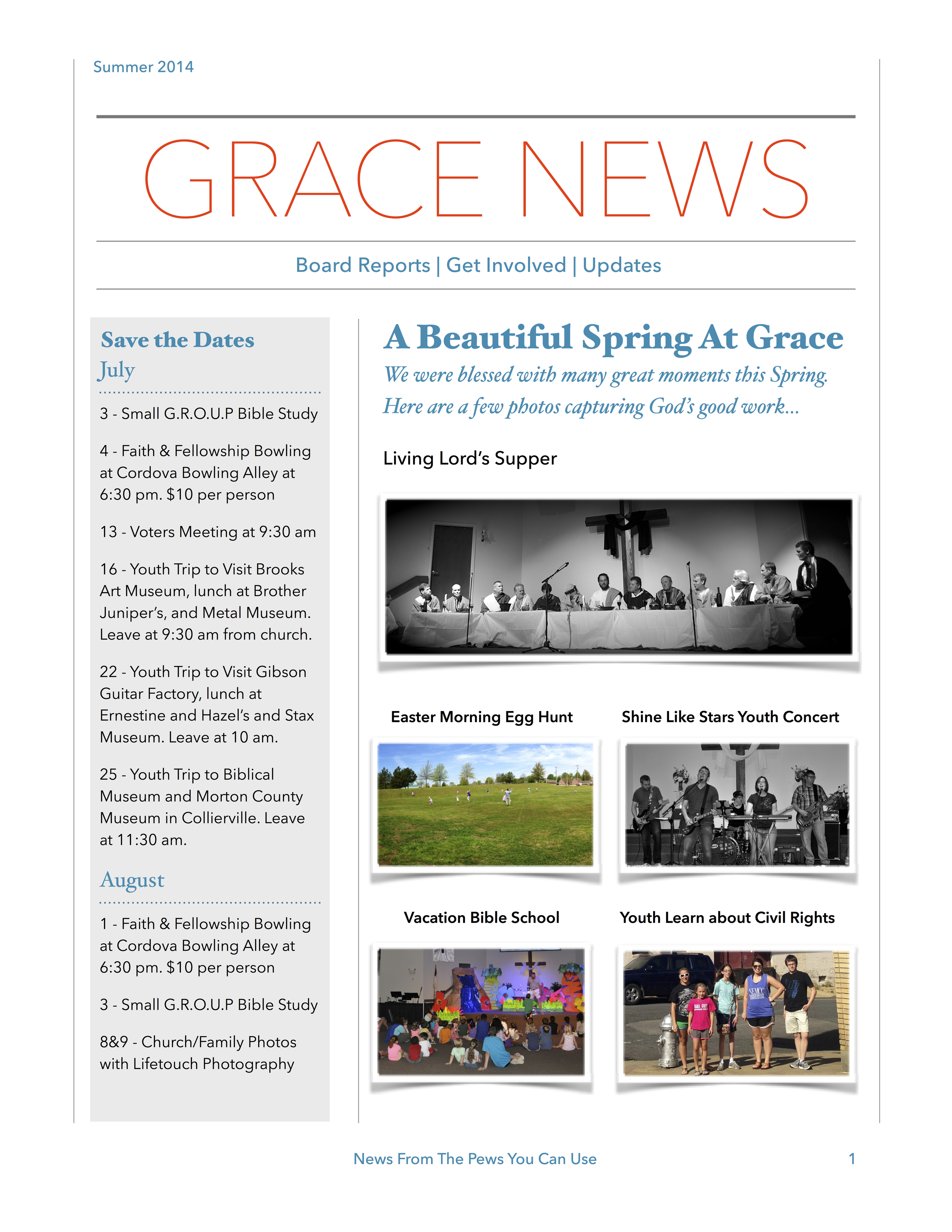 Summer 2014 - Grace News