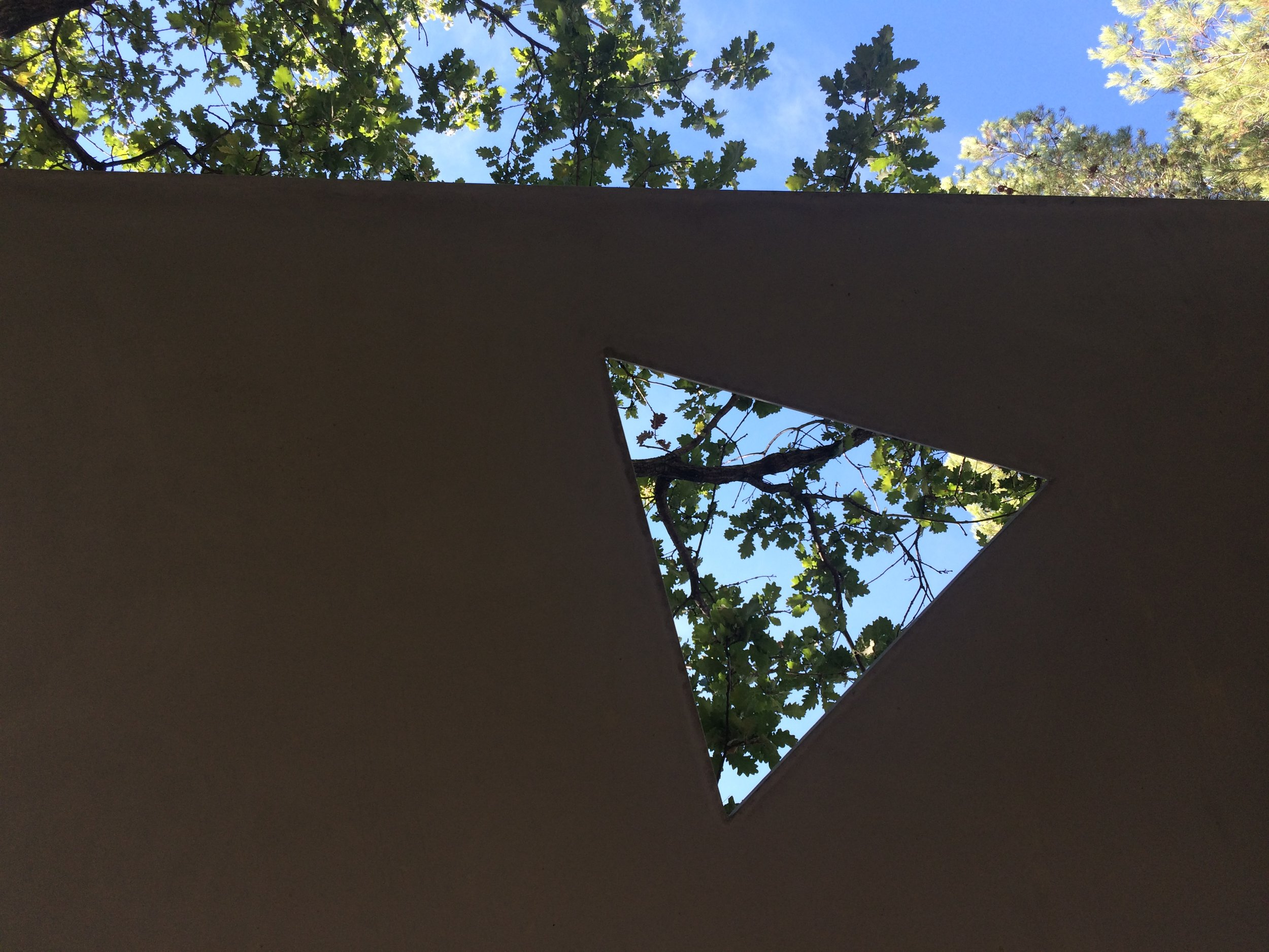 Tadao Ando, one of several Origami Benches