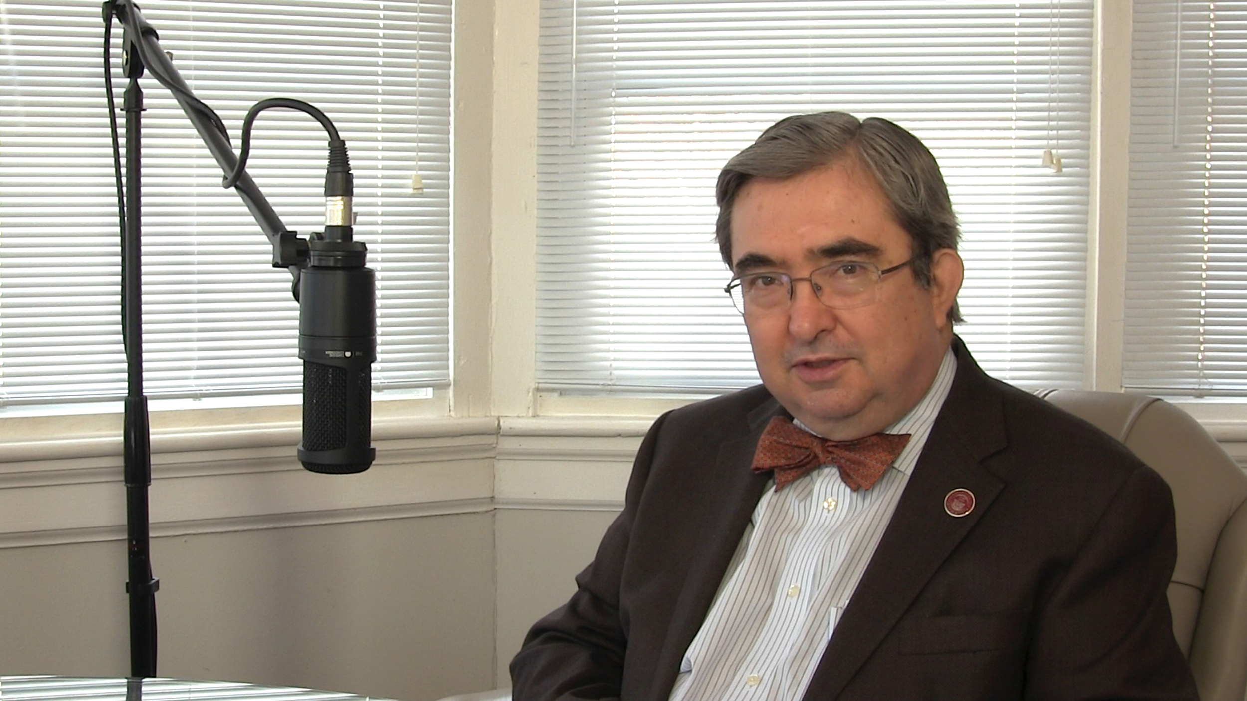 Dr. Peter Mercer, President of Ramapo College - Mahwah