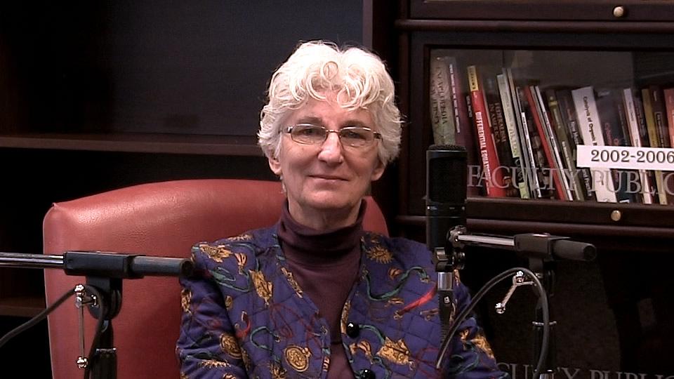 Dr. Judith Stark, Professor of Philosophy at Seton Hall University - South Orange