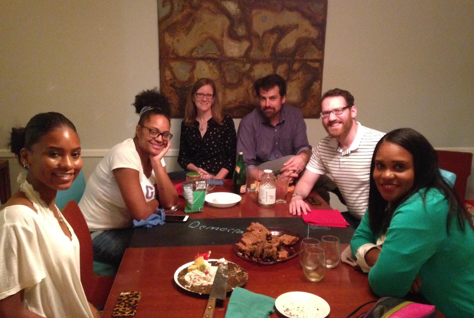 Kenedi, Ayana, Deborah, Jeff, Stephen, Toiya - Photo: Susan Haig