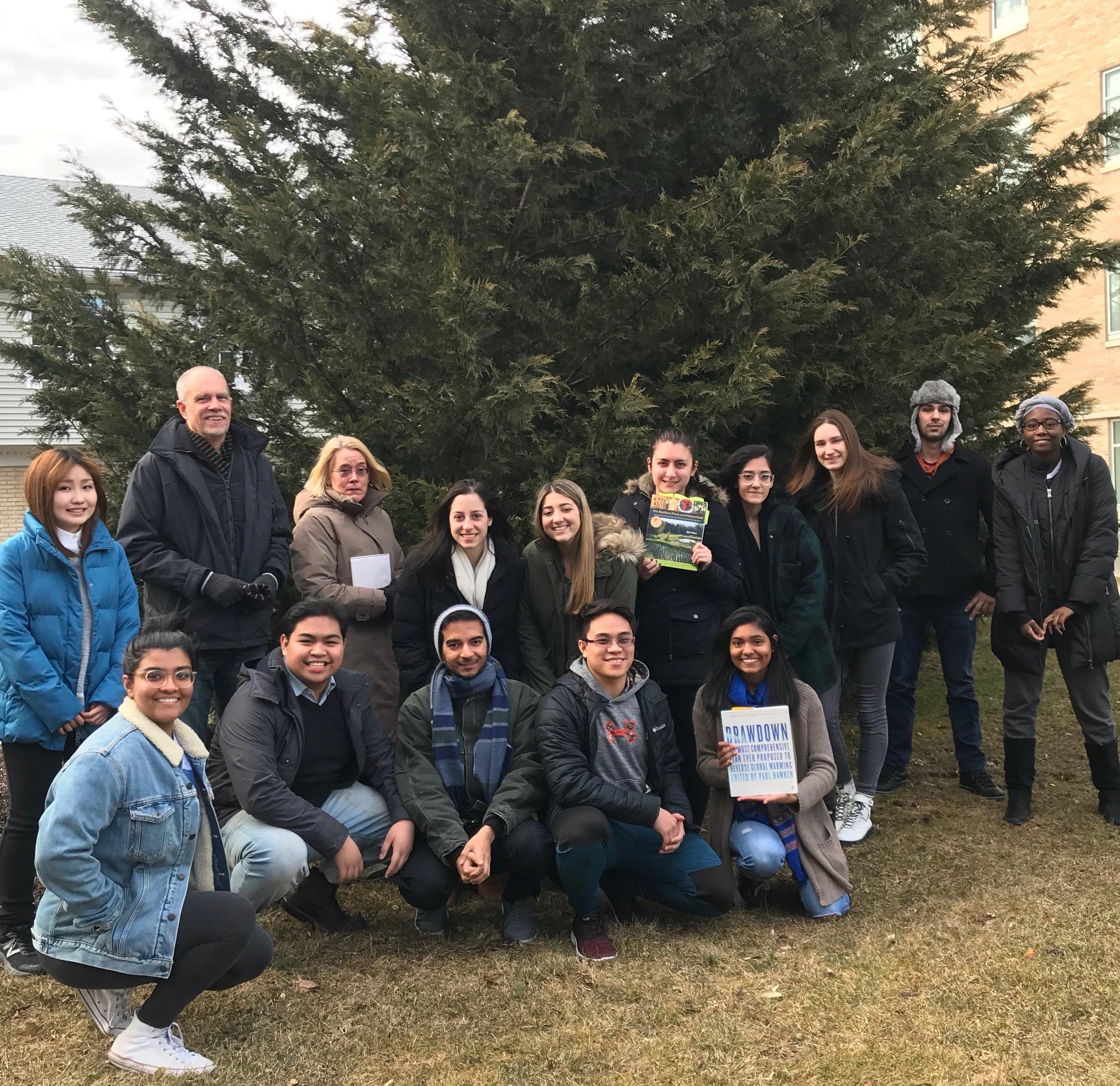 The Seton Hall Tree Plotters