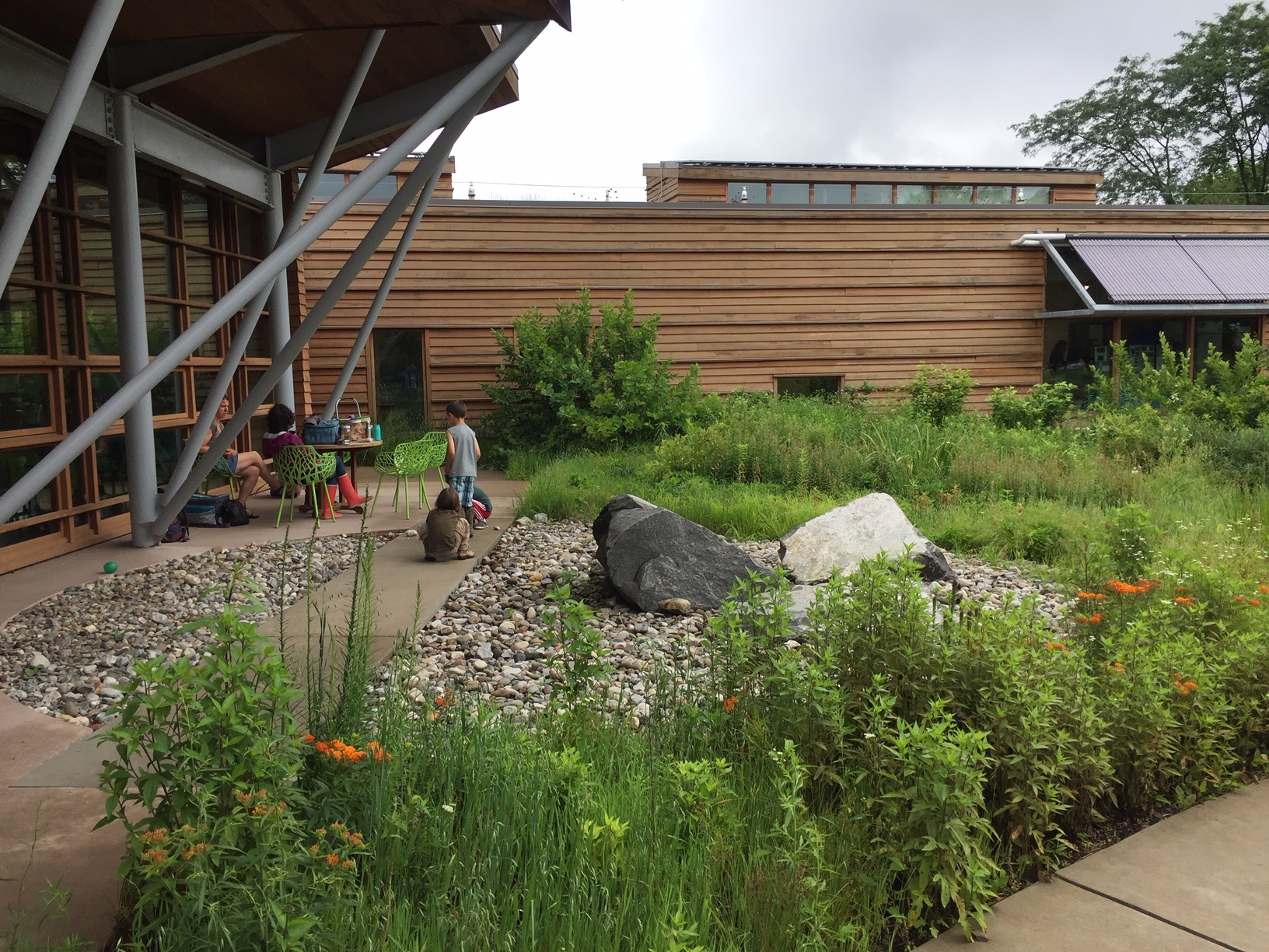 The Watershed Center, host of the stormwater symposium, is an example of the best practices it preaches.