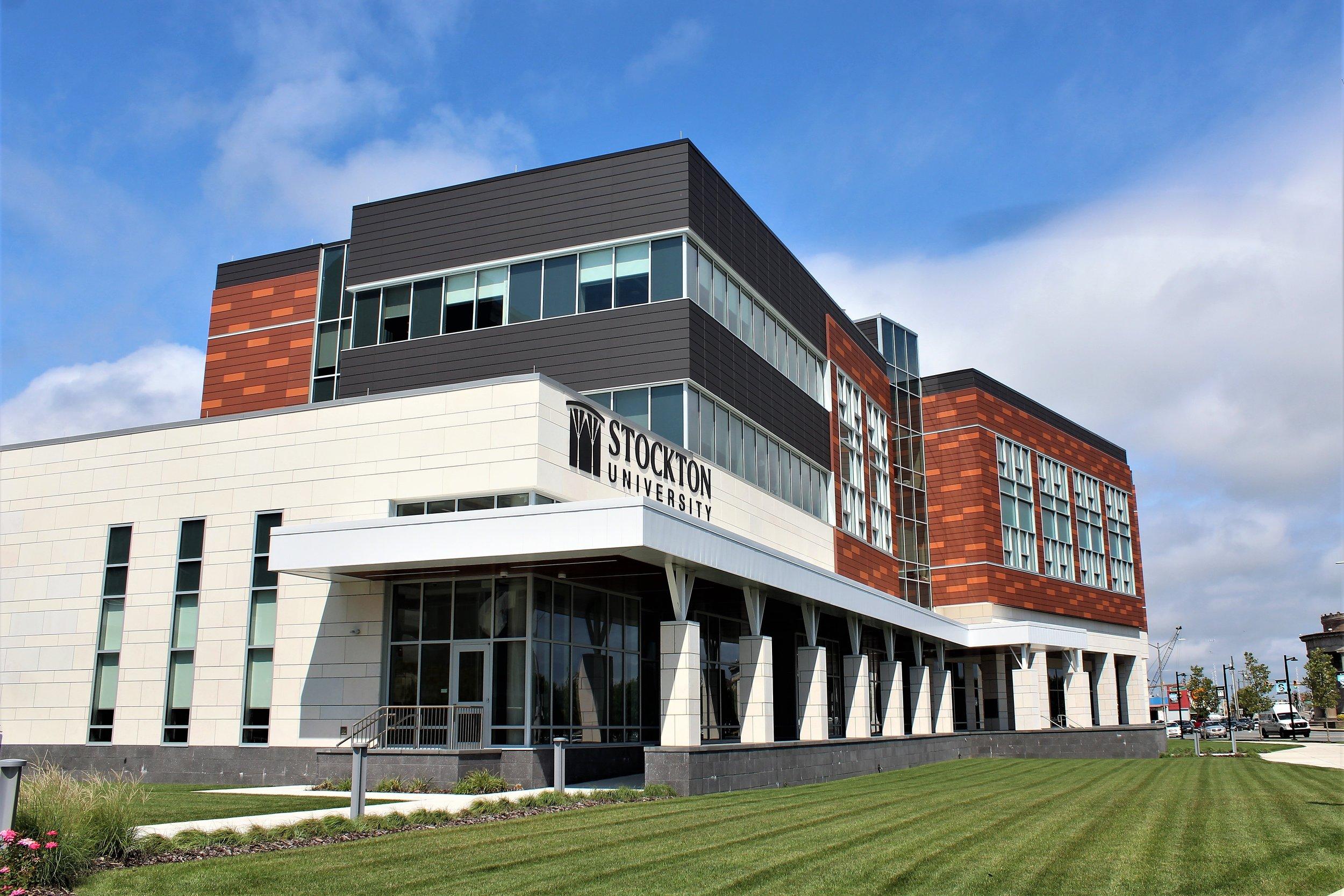 Stockton University's Atlantic City campus - Photo by Bill Barlow