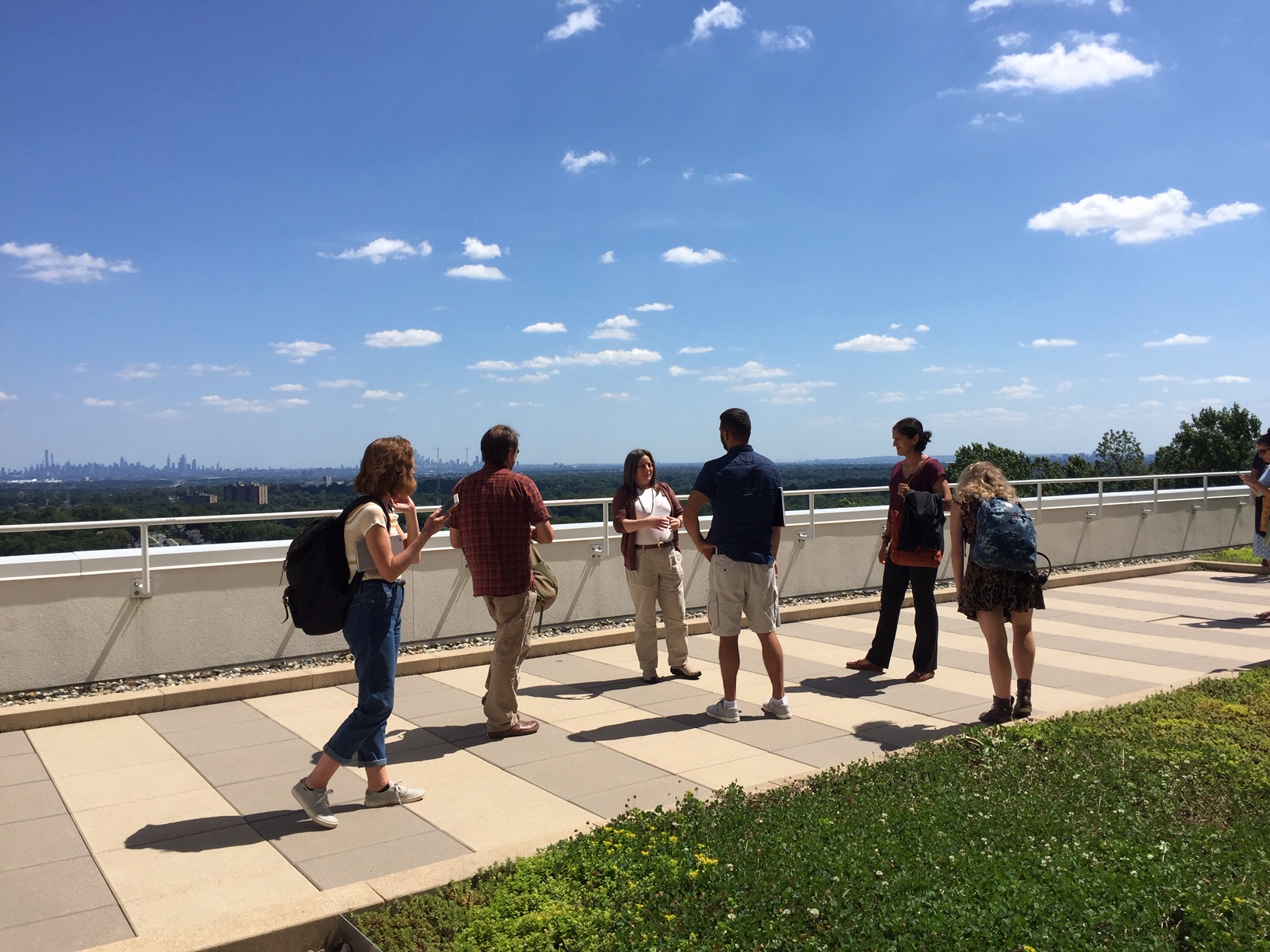 The NJ Sustainability Reporting Fellows began their orientation at Montclair State University - Photo by Donna Liu.