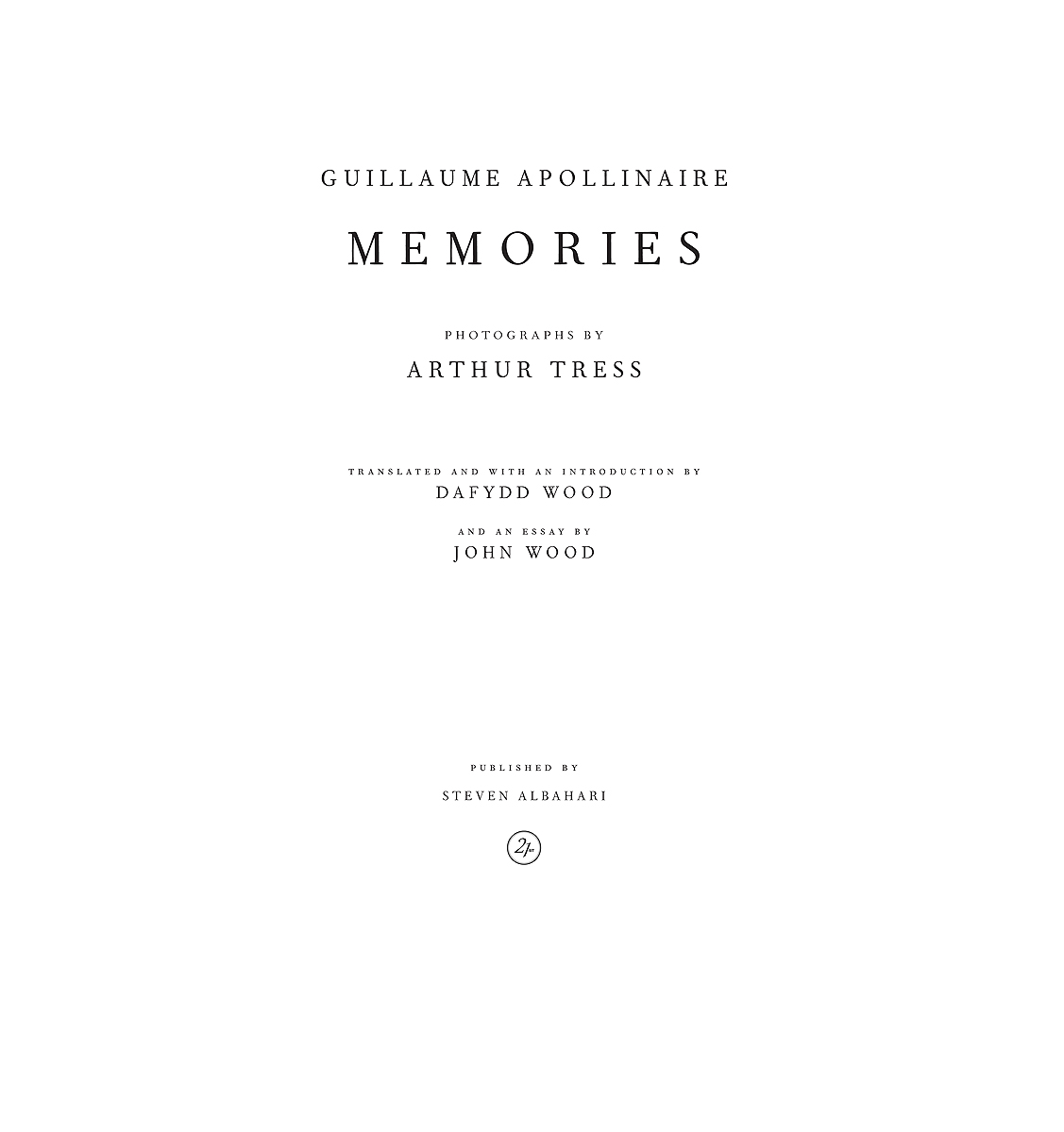 Memories, Arthur Tress