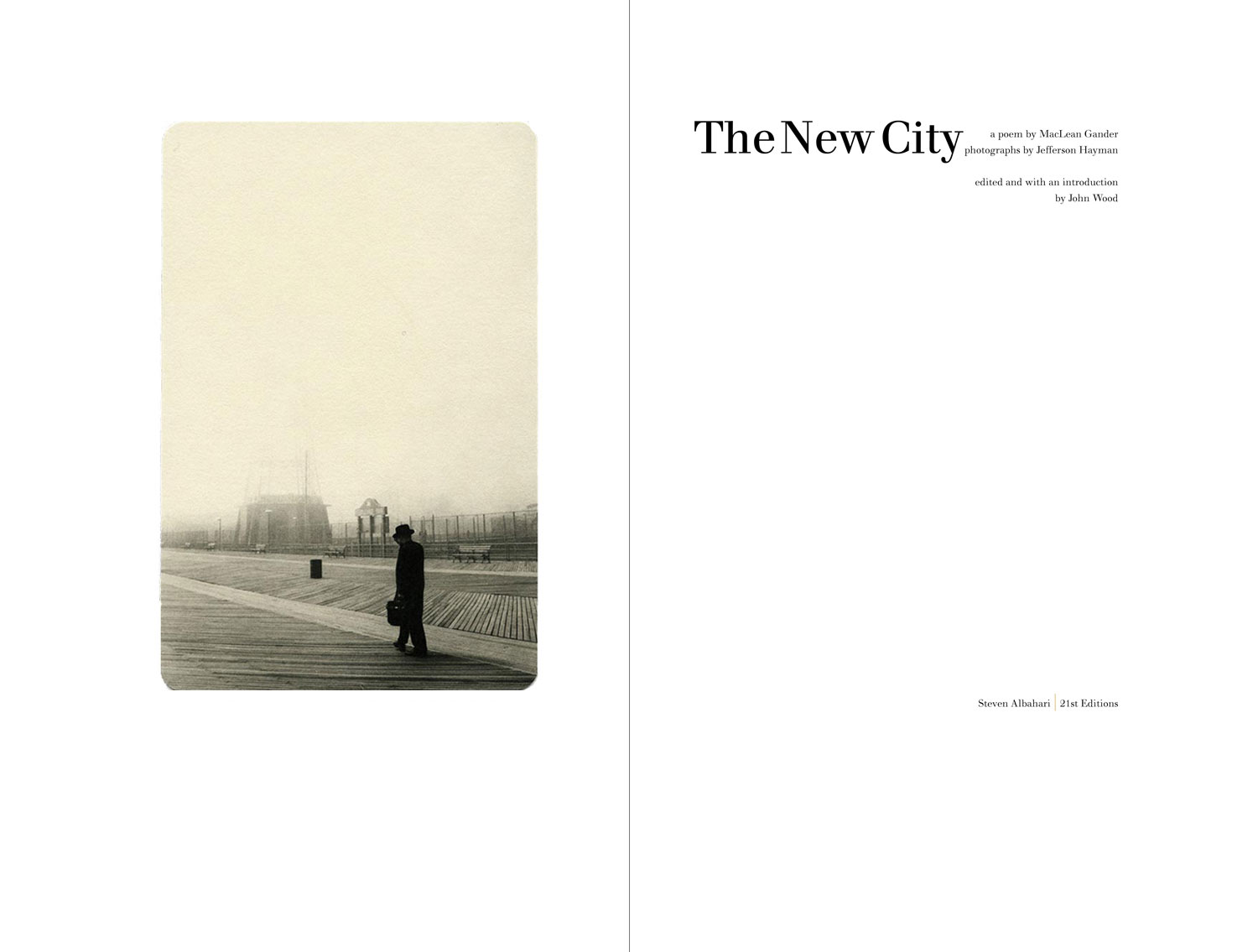 Jefferson Hayman: The New City