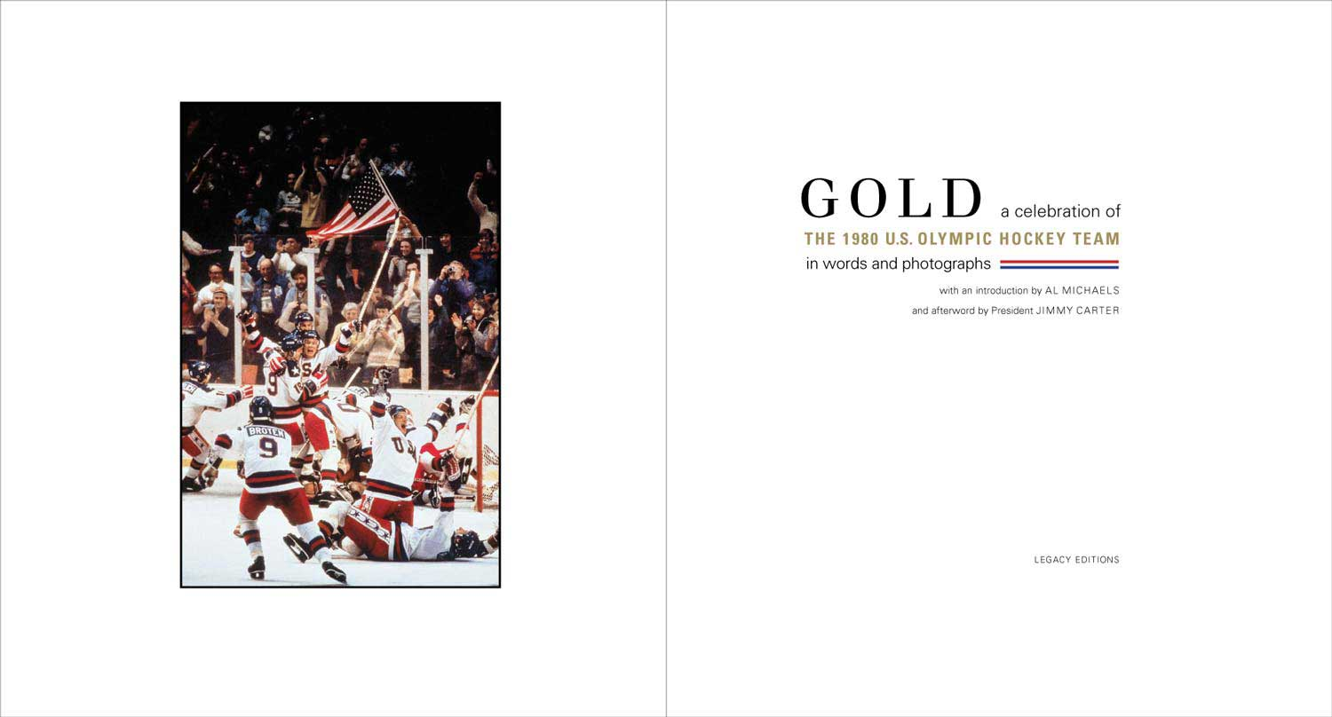 Gold: A Celebration of the 1980 US Olympic Hockey Team